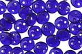 CzechMates Glass Cobalt 2-Hole Lentil 6mm