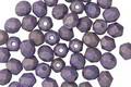 Czech Fire Polished Glass Pacifica Elderberry Round 4mm