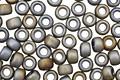 TOHO Matte Iris Gray Round 8/0 Seed Bead