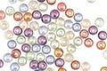 Czech Glass Luster Mix Round Druk 3mm
