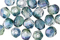 Czech Fire Polished Glass Earth Round 6mm