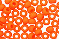 TOHO Opaque Frosted Pumpkin Round 8/0 Seed Bead