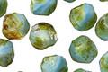 Czech Glass Horizon Picasso Chandelier Cut 8mm