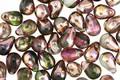Czech Glass Rose Garden Teardrop 4x6mm