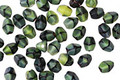 Czech Glass Calypso Green Pinch Bead 4x3mm