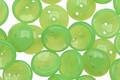 Czech Glass Apple Green 2-Hole Piggy Bead 8mm