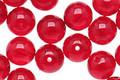 Czech Glass Ruby Round 8mm