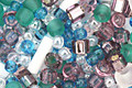TOHO Fuji White/Green/Blue/Purple Seed Bead Mix