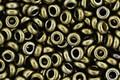 TOHO Bronze Antique Gold Demi Round 11/0 Seed Bead