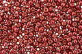 TOHO Permanent Galvanized Brick Red Round 11/0 Seed Bead