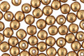 Czech Glass ColorTrends: Saturated Metallic Ceylon Yellow Round 4mm