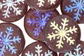 Czech Glass Laser Etched Snowflake on Matte Textured Garnet w/ AB Finish Coin 15mm