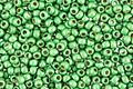 TOHO Permanent Galvanized (Matte) Green Apple Round 11/0 Seed Bead
