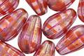 Czech Glass Berry Sangria Melon Teardrop 15x8mm