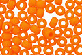 TOHO Opaque Frosted Cantelope Round 8/0 Seed Bead