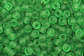 TOHO Transparent Frosted Peridot Round 11/0 Seed Bead