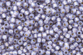 TOHO Permanent Milky Tanzanite (with Silver Lining) Round 11/0 Seed Bead