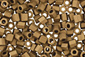 TOHO Matte Dark Copper Hex 11/0 Seed Bead