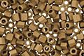 TOHO Matte Dark Copper Hex 11/0 Seed Bead