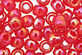 TOHO Transparent Rainbow Ruby Round 6/0 Seed Bead