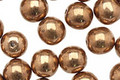 Czech Glass Bronze Round 8mm