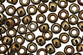 TOHO Metallic Iris Brown Round 8/0 Seed Bead