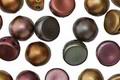CzechMates Glass Matte Metallic Bronze Iris 2-Hole Cabochon 7mm