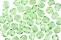 Czech Fire Polished Glass Peridot Round 4mm