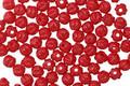 Czech Glass Opaque Red Melon Round 3mm