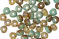 Czech Glass Agave Trica Beads 2.5x4mm