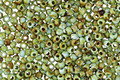 TOHO Frosted Opaque Cornflower Picasso Hybrid Round 11/0 Seed Bead