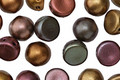 CzechMates Glass Matte Metallic Bronze Iris 2-Hole Cabochon 7mm