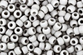 TOHO Opaque Frosted Gray Round 11/0 Seed Bead