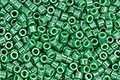 TOHO Aiko Opaque Lustered Mint Green Precision Cylinder 11/0 Seed Bead