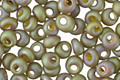 TOHO Opaque Rainbow Frosted Khaki Magatama 3mm Seed Bead