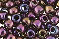 TOHO Metallic Iris Purple Round 6/0 Seed Bead