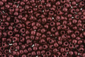 TOHO Metallic Suede Red Copper Hybrid Round 11/0 Seed Bead