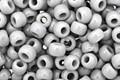 TOHO Opaque Gray Round 8/0 Seed Bead