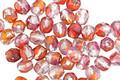 Czech Fire Polished Glass Rainbow Sherbet Round 4mm
