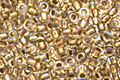 TOHO Crystal (with Gold Lining) Round 11/0 Seed Bead