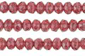 Czech Glass Berry Smoothie Fire Polished Rondelle 3x5mm