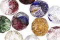 Czech Fire Polished Glass Bright Lights Mix Round 10mm