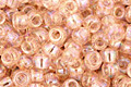 TOHO Transparent Rainbow Rosaline Round 8/0 Seed Bead