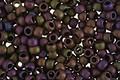 TOHO Frosted Metallic Iris Purple Round 8/0 Seed Bead