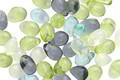 Czech Glass Beach Glass Mix Teardrop 4x6mm