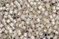TOHO Permanent Frosted Crystal (with Silver Lining) Round 15/0 Seed Bead