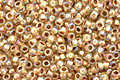 TOHO Rainbow Crystal (with Gold Lining) Round 15/0 Seed Bead