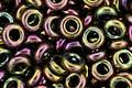 TOHO Higher Metallic Purple/Green Iris Demi Round 8/0 Seed Bead