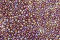 TOHO Opaque Rainbow Oxblood Round 15/0 Seed Bead
