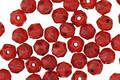 Czech Glass Pomegranate English Cut Bead 4mm